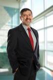 Portrait of mature businessman Royalty Free Stock Photos