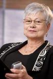 Portrait of mature businesswoman royalty free stock image