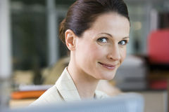 Portrait of mature businesswoman Stock Images