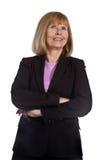 Portrait of Mature Businesswoman Stock Photo