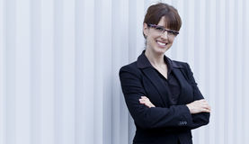 Portrait Of A Mature Businesswoman Smiling Royalty Free Stock Photography