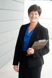 Portrait of a mature businesswoman Stock Photos