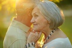 Portrait of Mature couple Stock Photography