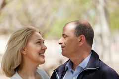 Portrait of mature couple Royalty Free Stock Images