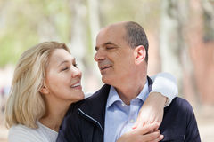 Portrait of mature couple Stock Photo