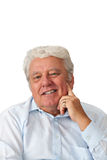 Portrait of a mature man Royalty Free Stock Photography