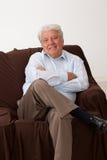Portrait of a mature man Stock Photos