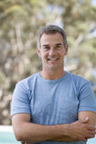 Portrait of a mature man royalty free stock image