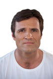 Portrait of mature man with brown hair Stock Photography
