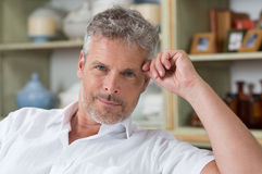 Portrait Of Mature Man Stock Photography