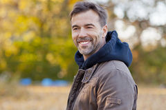 Portrait Of A Mature Man royalty free stock photos