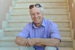Portrait of mature man Royalty Free Stock Photos