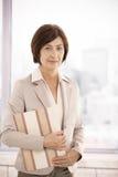 Portrait of mature professional woman Stock Photo
