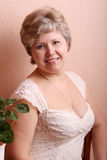 Portrait of a mature woman Royalty Free Stock Photos