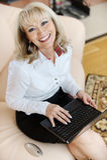 Portrait of mature woman Stock Image