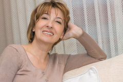 Portrait mature woman Royalty Free Stock Image