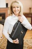 Portrait of mature woman Stock Photo