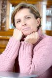 Portrait of mature woman Stock Image