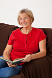 Portrait of mature woman Royalty Free Stock Image