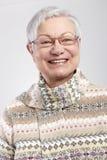 Portrait of mature woman smiling Stock Photos