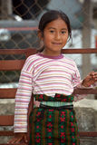 Portrait of a Mayan child Stock Photos