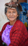 Portrait of a Mayan woman. Stock Photography
