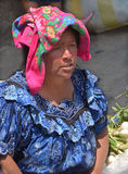 Portrait of a Mayan woman Royalty Free Stock Image