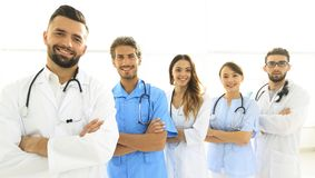 Portrait of medical center team, Stock Photos