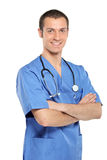 A portrait of a medical doctor royalty free stock image