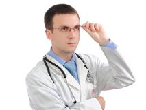 Portrait of medical doctor Royalty Free Stock Photography