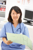 Portrait of medical professional Stock Photo