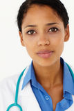 Portrait of medical professional. Looking at camera Stock Image