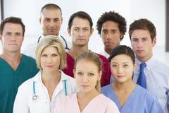 Portrait Of Medical Team Stock Photo