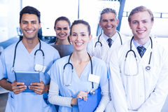 Portrait of medical team standing together Royalty Free Stock Images