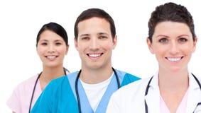 Portrait of medicam team Stock Photos
