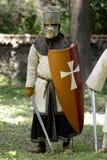 Portrait medieval foto de archivo