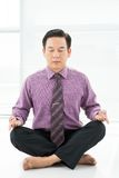 Office meditation Stock Photos