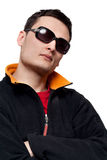 Portrait Men In Sunglasses Stock Photos