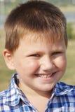 Portrait of merry little boy Stock Photography