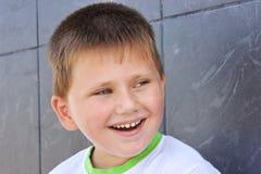 Portrait of merry little boy Stock Photos