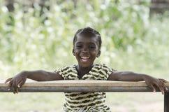 Portrait merveilleux de petite fille africaine Images stock