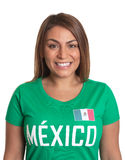 Portrait of a mexican girl Royalty Free Stock Images