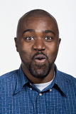 Portrait of mid adult African American man Stock Photos
