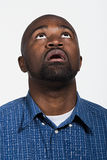 Portrait of mid adult African American man Stock Images