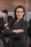 Portrait of mid-adult businesswoman Stock Photography