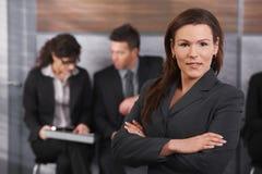 Portrait of mid-adult businesswoman Stock Image
