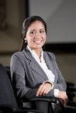 Portrait of mid-adult Hispanic businesswoman Royalty Free Stock Image