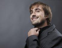 Portrait of a middle age businessman Stock Photo