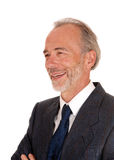 Portrait of middle age man in suit. Stock Photography