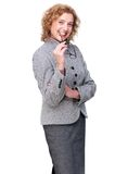 Portrait of a Middle Aged Business Woman Stock Image